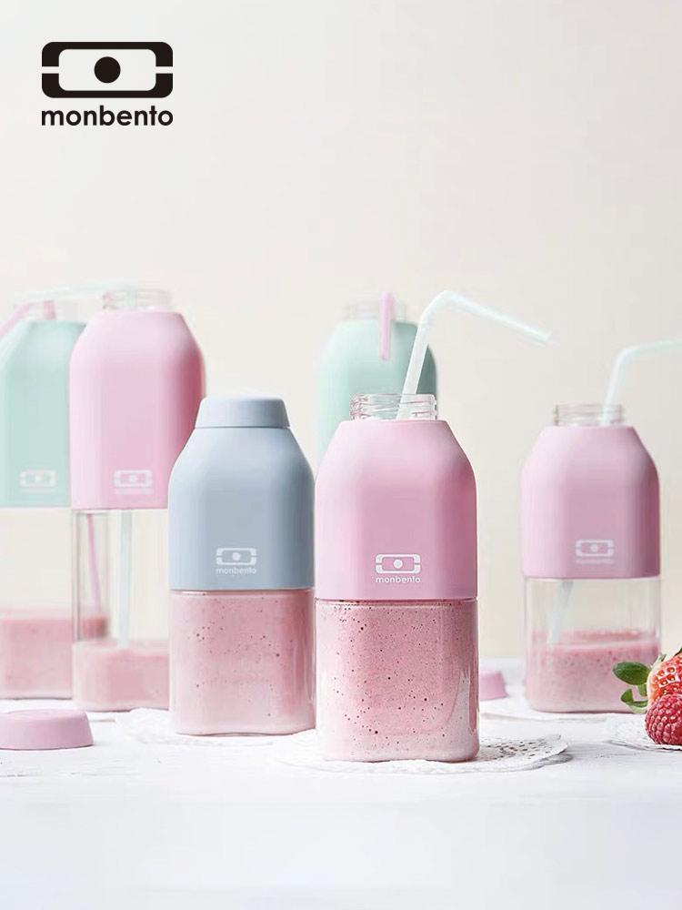 法国Monbento Tritan材质 便携果汁杯 水杯 330ml 天猫优惠券折后¥58包邮(¥78-20)多色