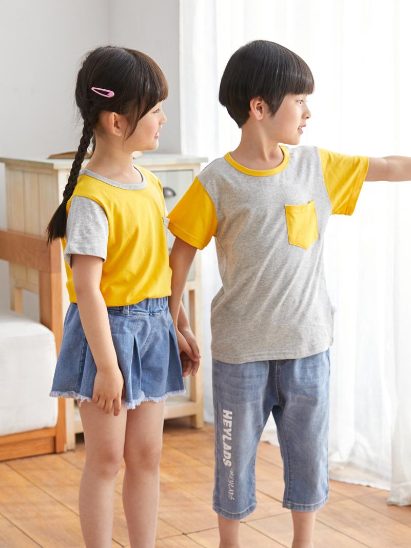 鲁东旗舰店,男女儿童短袖