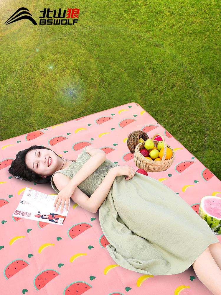 Коврик для пикника Влагостойкий коврик Портативная палатка Коврик для кемпинга утепленный Сетка для пикника красный Основные товары для улицы водонепроницаемый ковер