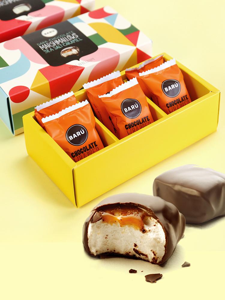 比利时进口 Baru 芭露 夹心巧克力棉花糖组合 200g 天猫优惠券折后¥19.9包邮(¥69.9-50)多款可选