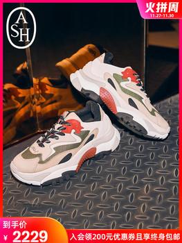 ASH обувь женская ADDICT ретро цвет hit воловья кожа случайный спортивной обуви повышать старый отец обувной, цена 35418 руб