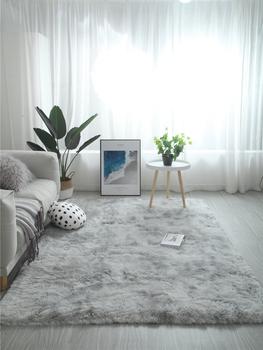 Ковры,  Нордический ins ковер гостиная кофейный столик спальня полный магазин милый чистый красный в этом же моделье кровать край шерстяные одеяла коврики сын большой площадь, цена 154 руб