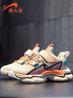 Элегантный птица ребенок обувь мальчиков спортивной обуви 2020 метров весна сезон вентиляции меш единая сеть обувной девочки обувной, цена 1316 руб
