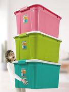 龙姿宿舍床底塑料整理储物收纳箱3个装