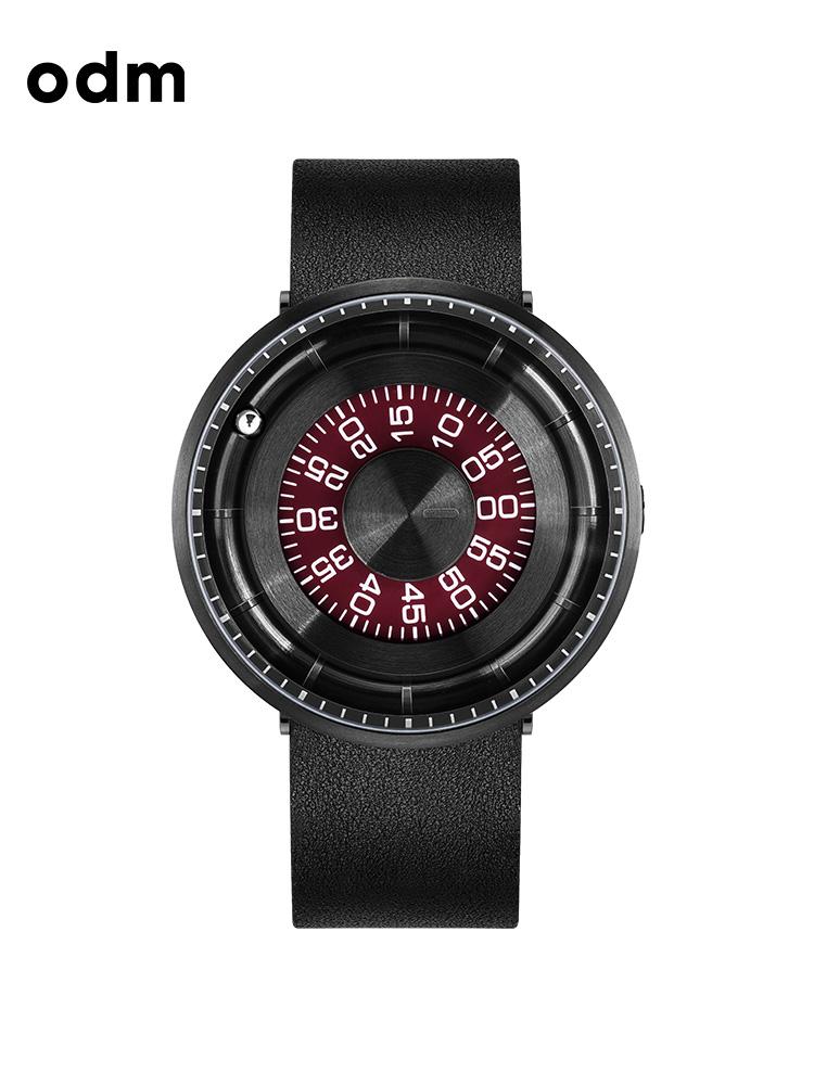 odm手表 黑科技手表男女表滾珠走時個性防水創意蟲洞概念手表