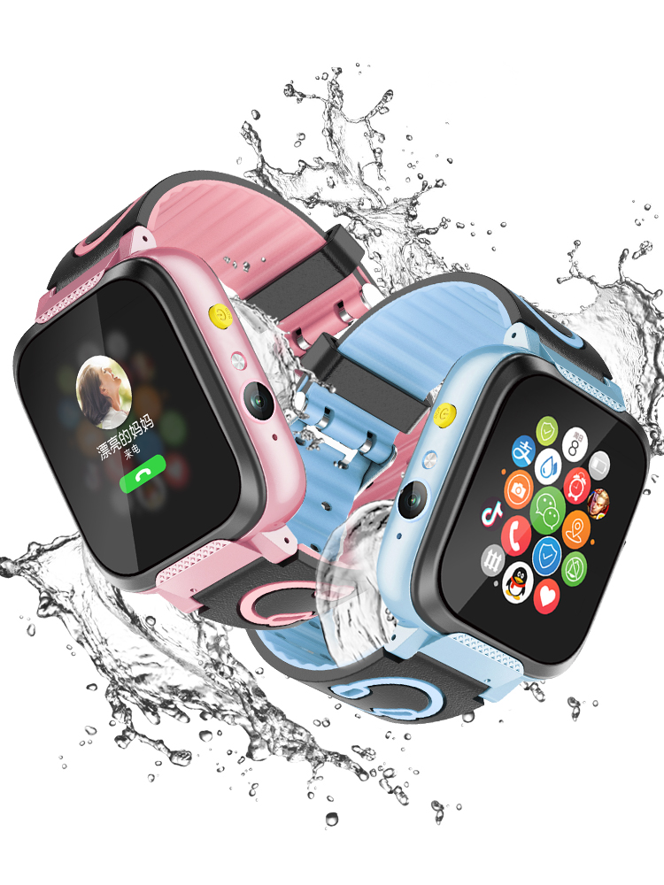 小学生儿童天才电话手表智能定位防水智能触摸屏男女孩超长待机运动多功能手机插卡拍照可爱4G移动联通电信版