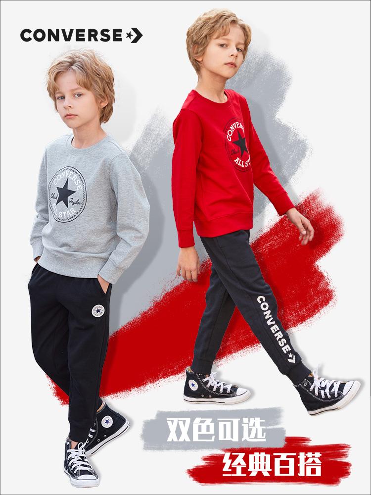 Converse 匡威 21年款 儿童卫衣 双重优惠折后¥89包邮 常规款、加绒款105~160码多色可选