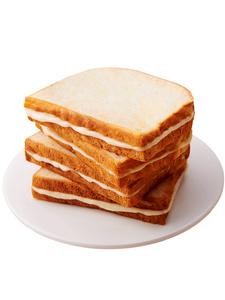 巴比熊奶酪吐司夾心面包蒸蛋糕整箱