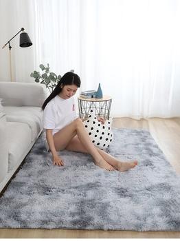 Ковры,  Нордический спальня ковер гостиная кровать край сделанный на заказ комната простой полный магазин ins сгущаться современный домой милый коврики, цена 135 руб