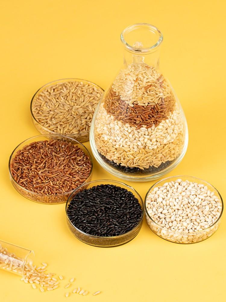十月稻田 五色糙米 1kg*2件 双重优惠折后¥24包邮(拍2件)