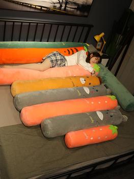 Цилиндр полоса подушка девочки сторона сон клип нога подушка школьник модель сопровождать вы ложиться спать кровать шить заполнение артефакт съемный, цена 510 руб