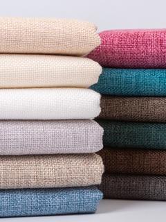 Ткани,  Диван хлопок материал ручной работы diy сгущаться грубый лен льняная ткань твердый старый грубый ткань холст мешковина скатерть подушка ткань, цена 102 руб