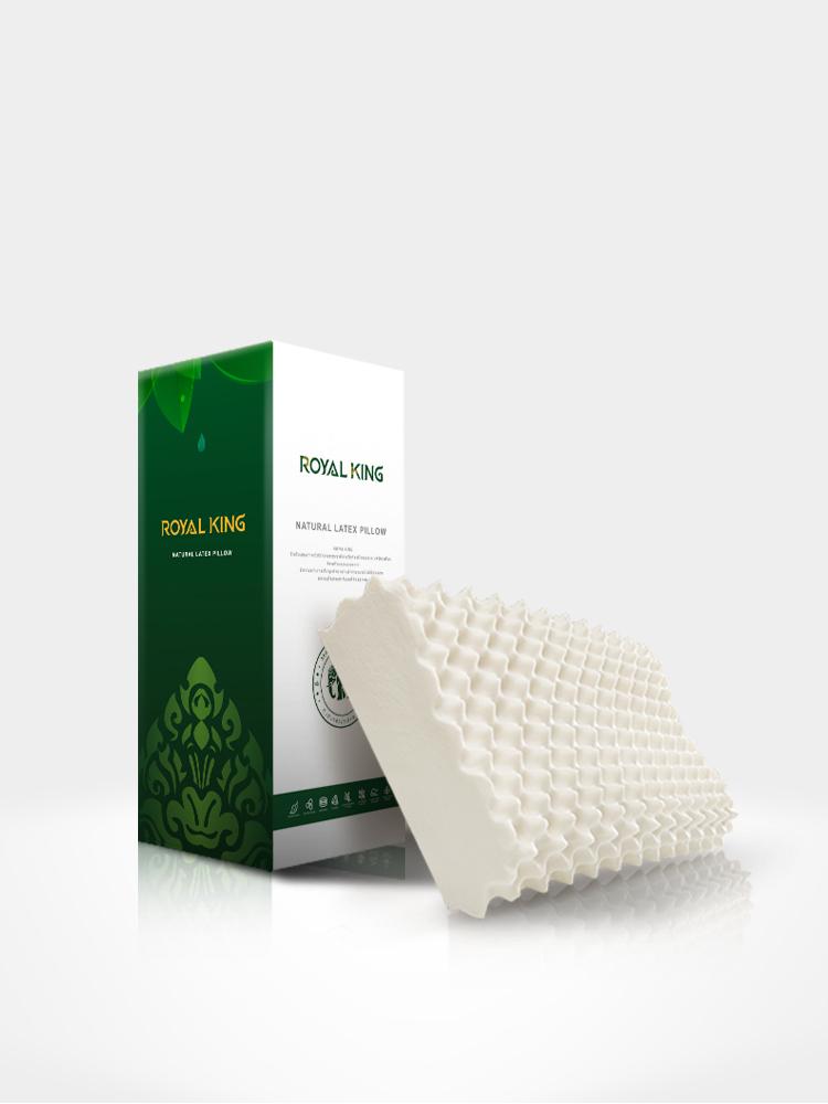 抑菌防螨不落枕:泰国原装进口 Royal King 乳胶枕头