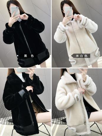 | Цена 43019 руб | Дерма волосы пальто женщины 2019 в новый длинная модель локомотив ягнята хайнинг шуба пальто зима