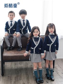 Форменная одежда,  Любовь прохладно ребенок детский сад сад одежда ребенок униформа весенний и осенний зима четыре части ученик класс обслуживания британский колледж ветер, цена 1711 руб