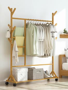 Вешалки,  Легко вешалка дерево спальня в воздуха весить одежду полка этаж комната пакет домой релиз одежда сложить стеллажи, цена 423 руб