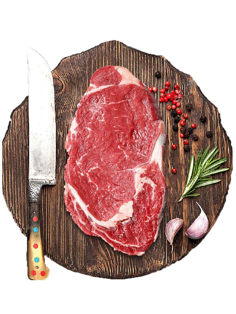 原肉整切,澳洲進口:絕世 西冷菲力牛排套餐 10片/1000g 拍2件128元包郵