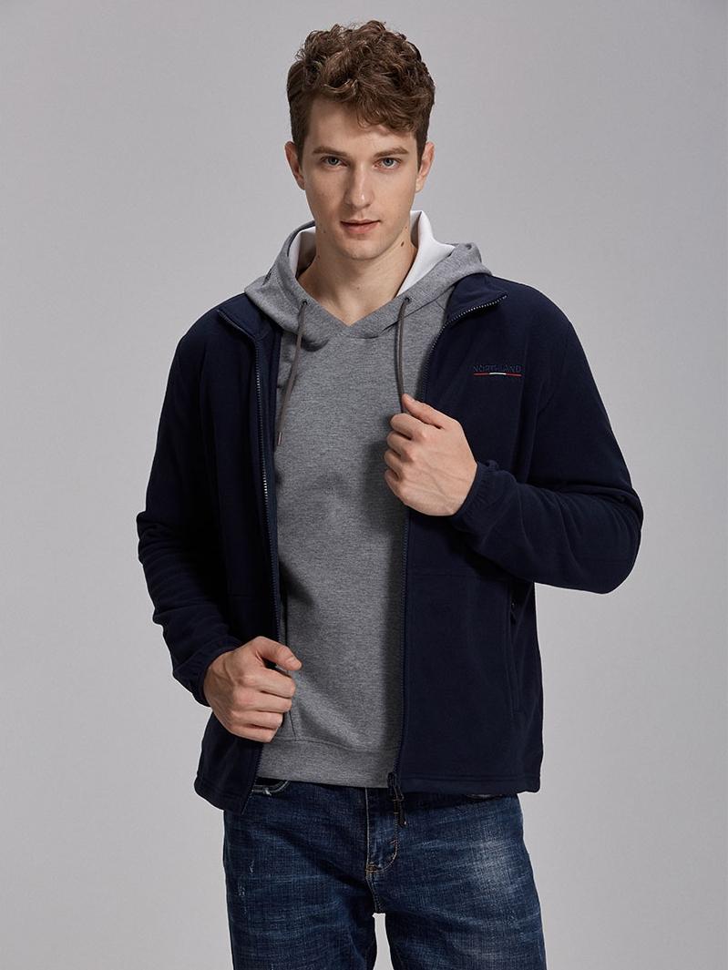 Northland 诺诗兰 徒步系列 男式抓绒夹克外套 ¥138包邮 2色可选