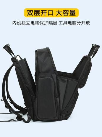   Цена 6004 руб   Франция манчестер toolkit рюкзак плечи электрик большой потенциал многофункциональный мужчина холст сгущаться электричество лестница служба специальные пакеты