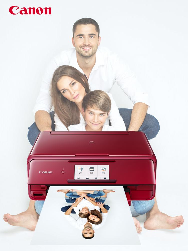 佳能TS8180照片打印機6色家用辦公多功能復印照片一體機手機無線wifi噴墨自動雙面打印文檔掃描件彩色三合一