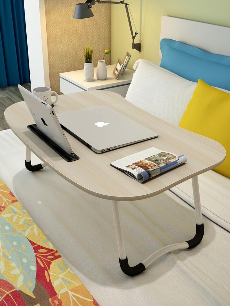 Máy tính xách tay bàn bảng bàn có thể gập lại bàn nhỏ đơn giản ký túc xá bàn giường cao đẳng lười biếng bảng