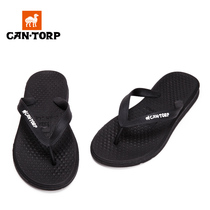CANTORP camel men word drag beach shoes summer non-slip outdoor cool drag clip feet couple slippers women