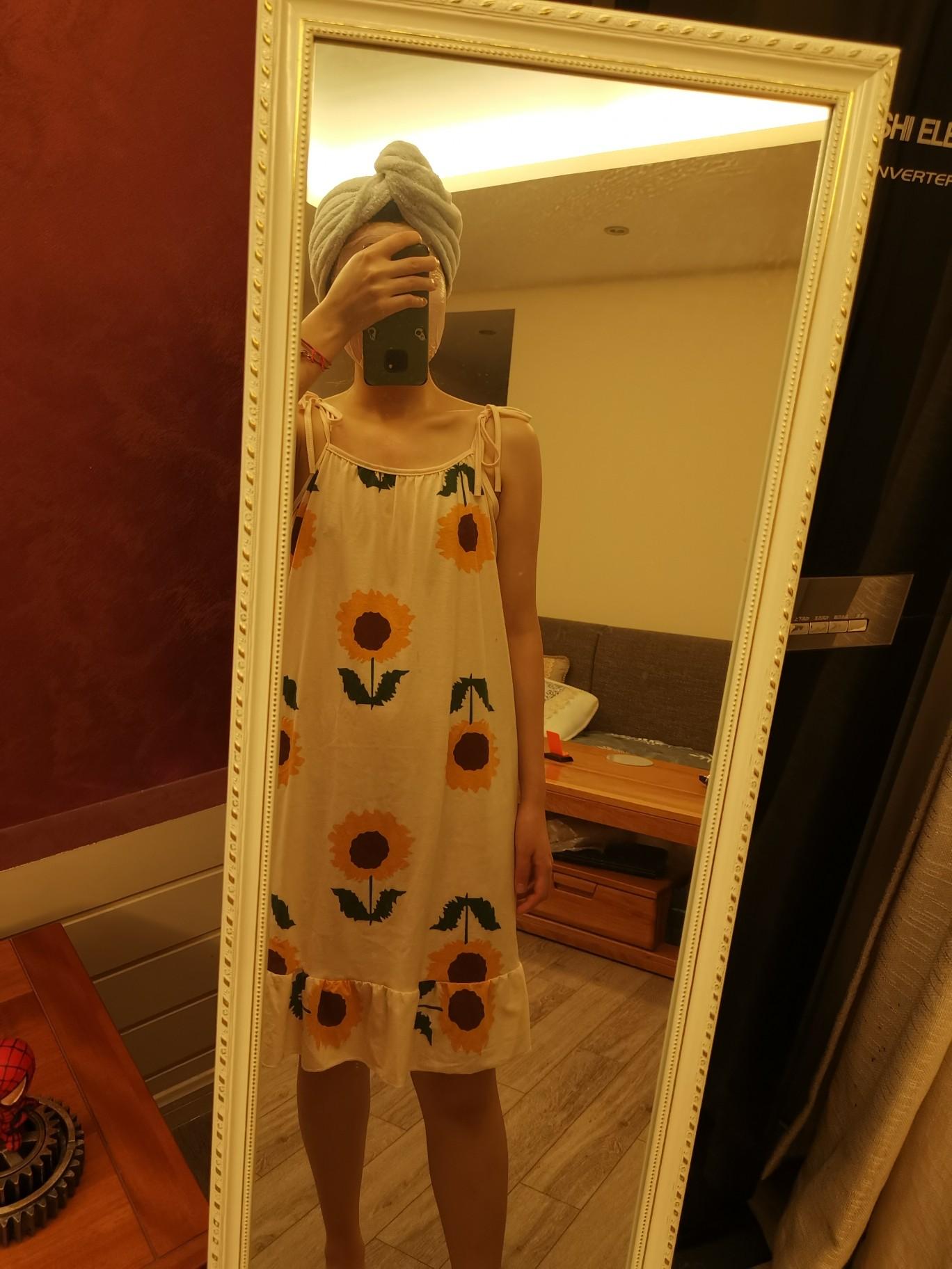 【猫人大牌!】夏季纯棉连衣裙睡衣