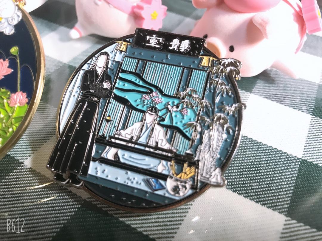 The Untamed Xiaozhan WangYibo Cosplay Brooch Badge Pin Button Chong Feng