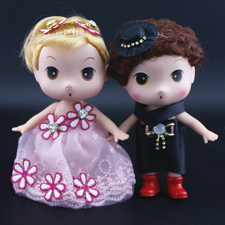 Chuanghang wedding couple doll Wedding car decoration couple doll Wedding cartoon couple doll couple doll pair of wedding car decoration couple doll pair of wedding car decoration couple doll pair of wedding car decoration couple doll pair of wedding car