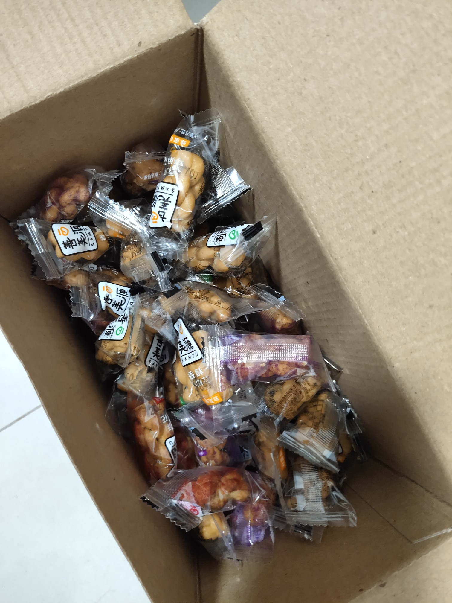 网红零食手工香酥小麻花70包