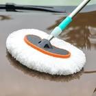 汽车洗车拖把伸缩刷车刷子擦车拖把车用清洗