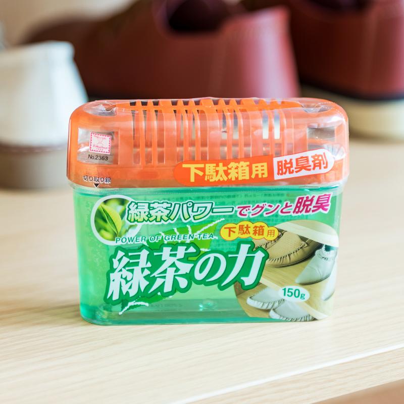 绿茶鞋柜除臭剂家用去味卫生间异味室内鞋子固体清新剂空气厕所味