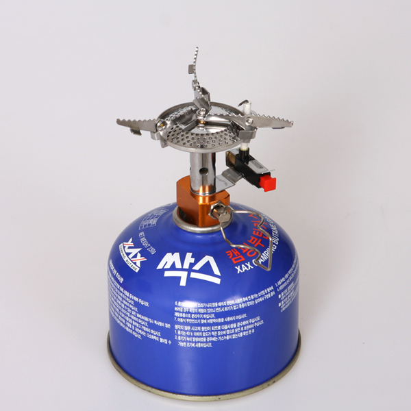Outdoor camping burner stove integrated burner picnic gas stove 竈 head Mini burner Super firepower