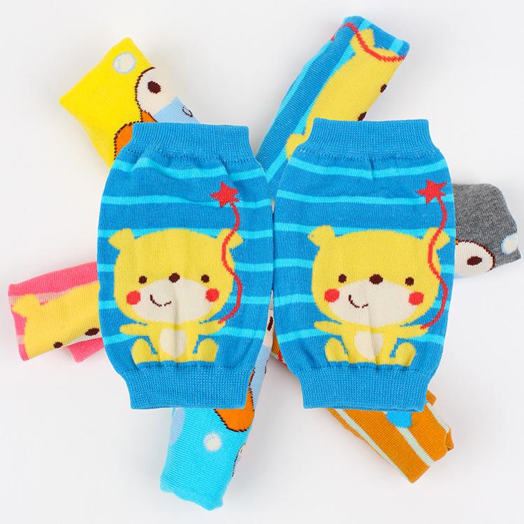 4双包邮韩版卡通婴幼儿童针织袖套短款可爱宝宝袖套护袖手袖护膝