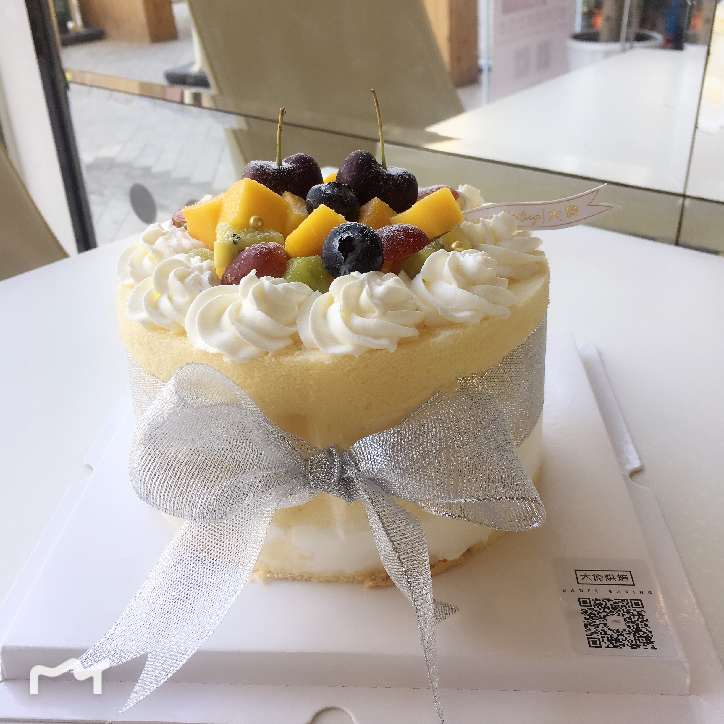 Xiamen Birthday Cake With The City Delivery Summer Fresh Fruit Cream Less Preferred Big Ni Baking