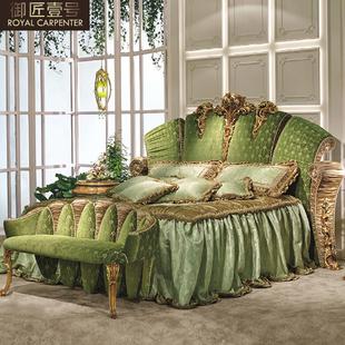 Роскошный континентальный вилла мебель женщина господь человек дом 2 большой кровать смысл стиль господь ложь дерево резьба 1.8 двуспальная кровать брак кровать