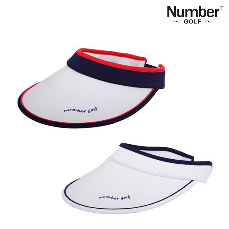 Golf cap female Number ladies golf no top cap golf hat empty top hat sun  visor 342d5aa9c89