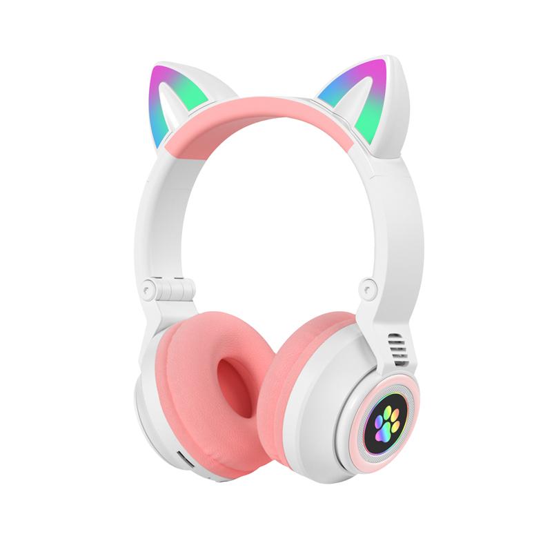 猫耳耳机头戴式无线蓝牙耳机