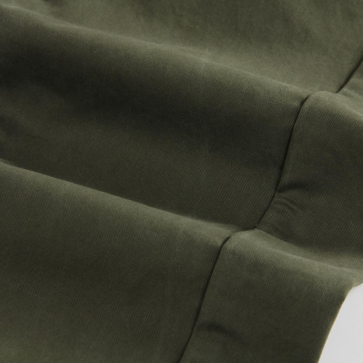 高品质 秋冬男士休闲裤男纯棉修身直筒男裤青年军绿色长裤子潮流