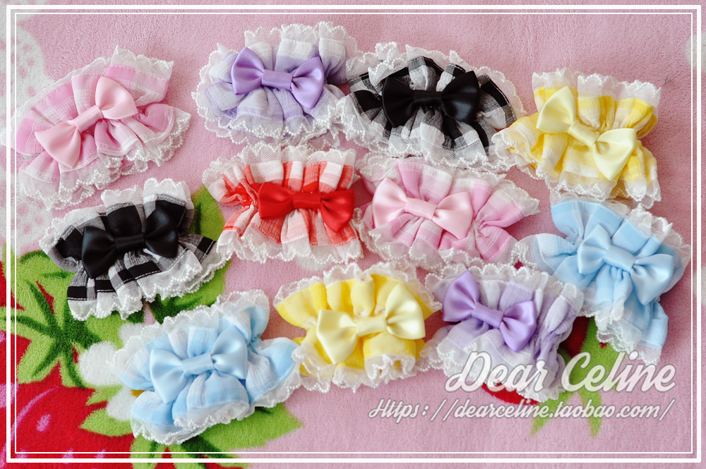 42agent +DC+ summer fruit candy matching hand sleeves / hair ring a full spot Lolita - Taobao