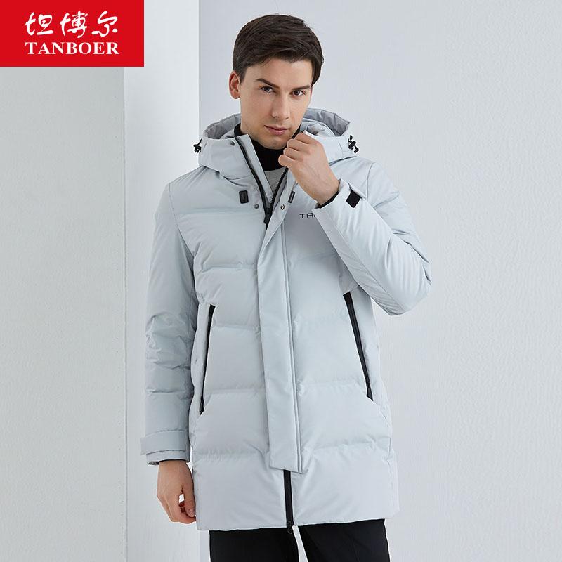 Ровный и широкий богатые ваш зимний осенний новинка закрытый куртка мужчина в длинная модель теплый случайный бизнес тенденция пальто TA202683