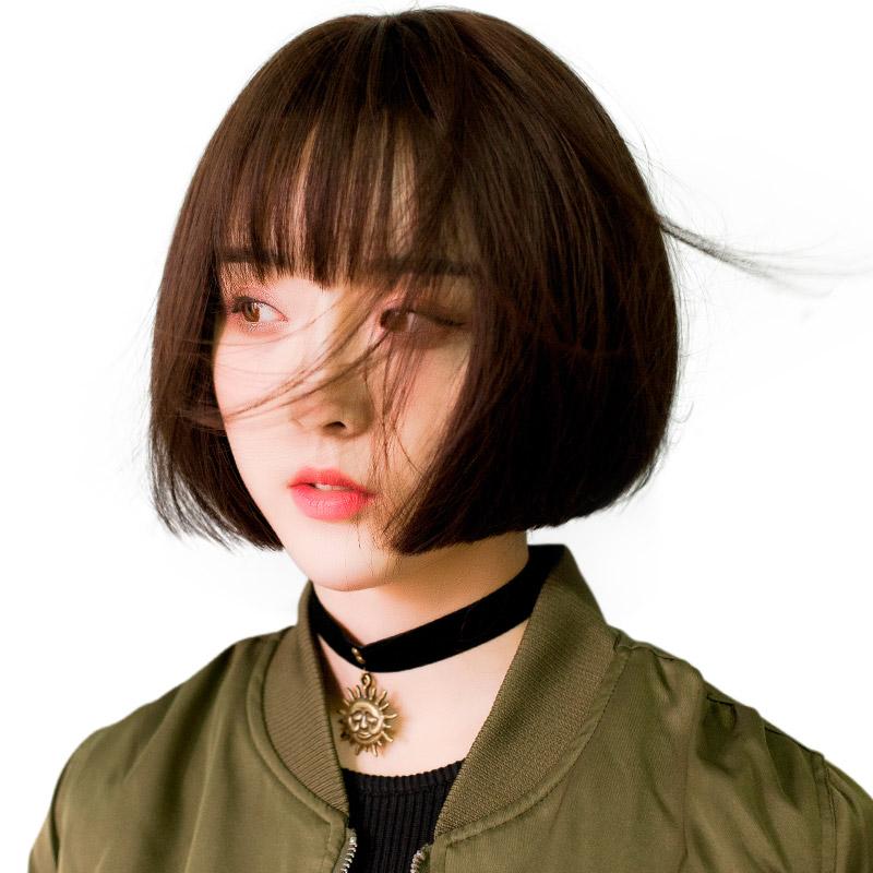 11月07日最新优惠假发女短发bobo波波头修圆脸
