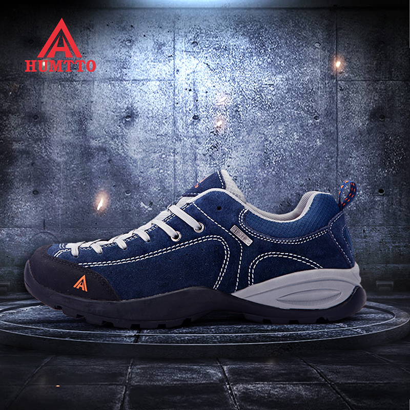 American Hummer Mountaineering Shoes Male Couple Sneakers Women's Non-Slip Climbing Shoes Breathable Hiking Shoes Waterproof Outdoor Shoes