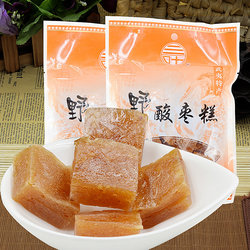 Wild jujube cake Wuyishan Pucheng specialty Sanye wild jujube cake Southern jujube cake mountain jujube snack 250g*2 pack