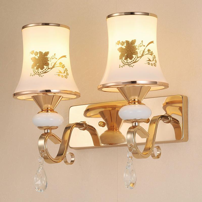 灯具现代简约LED床头灯卧室创意单头创意客厅a灯具阅读灯双头壁灯