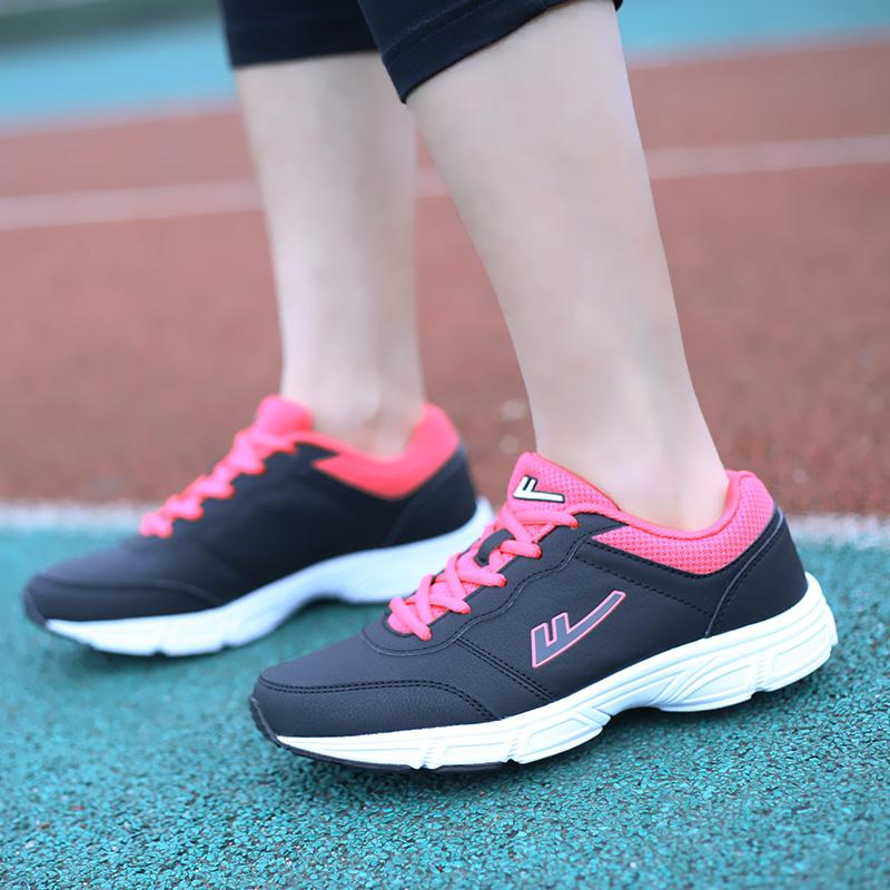 回力2015秋冬季新款低帮运动女鞋户外休闲鞋透气网面学生跑鞋3600