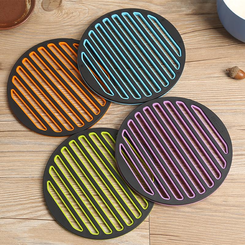 威佰士厨房餐桌垫锅碟子欧式隔热垫创意杯碗垫硅胶盘垫防烫小工具