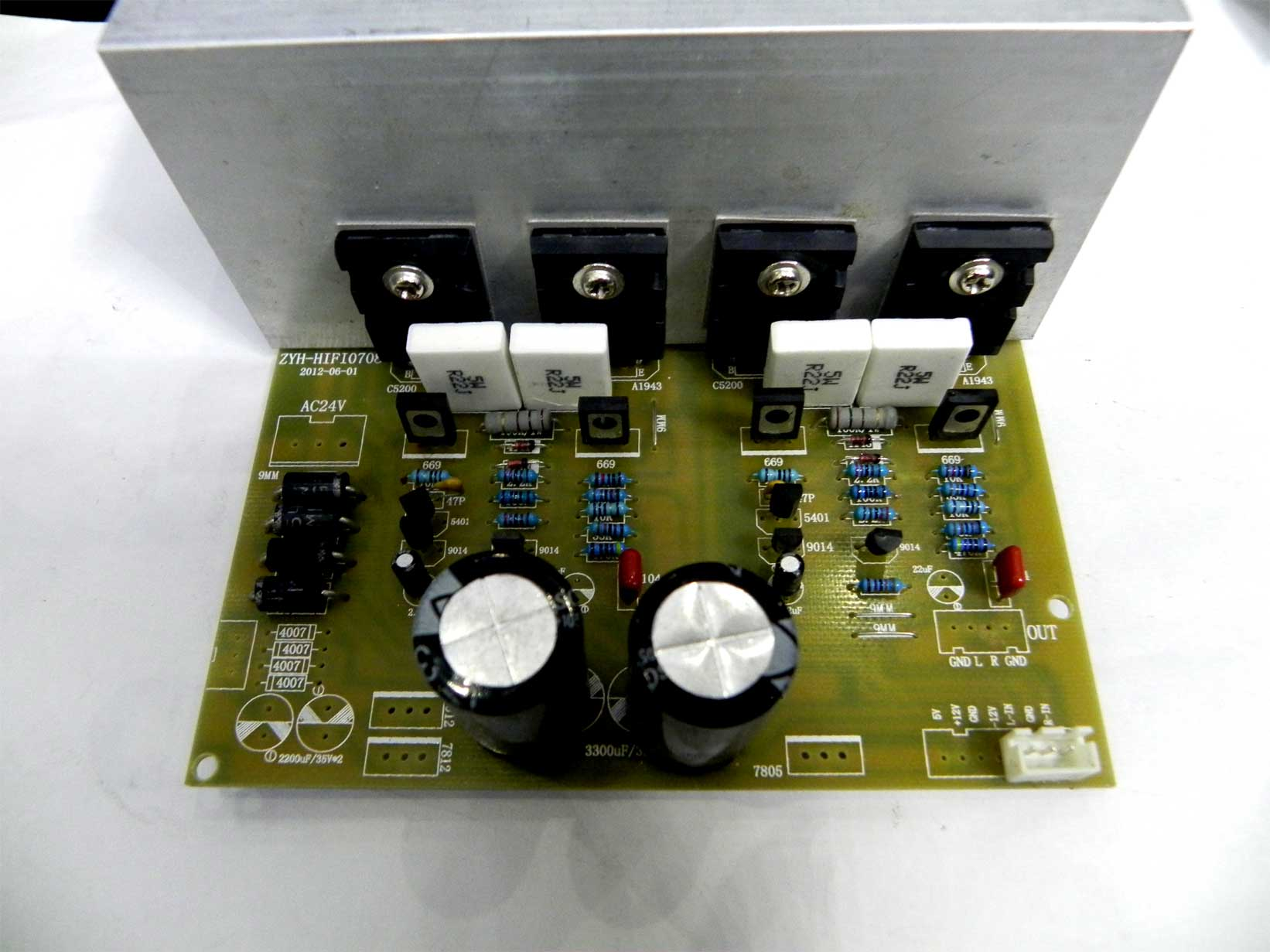 150w Lm3886 Power Amplifier Usd 1895 New Design 2 0hifi2sc5200 To 2sa1943 Stereo Classic Board