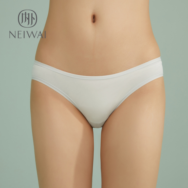 ed9f9a4baf8 Zero-sensitive low-waist panties ladies cotton breathable comfortable solid  color sexy hip abdomen neiwai inside and outside