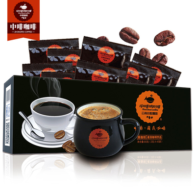 【中啡】速溶浓情黑咖啡80杯